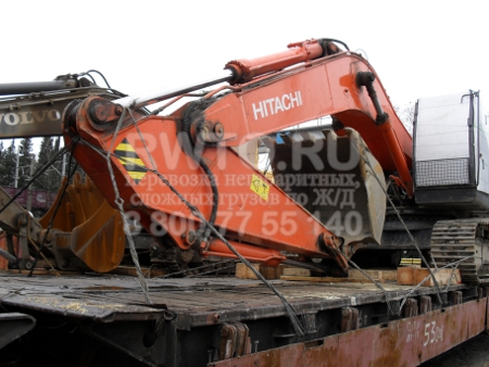 Железнодорожные перевозки тяжеловесных грузов с компанией ЦЖТН фото 1